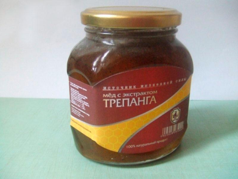 трепанг на меду